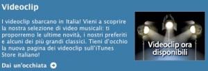 videoclip itunes store italia